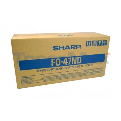 SHARP FO-4700 TONER CARTRIDGE BLACK